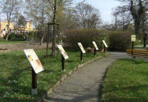Bienen - Lehrpfad im Botanischen Garten Chemnitz