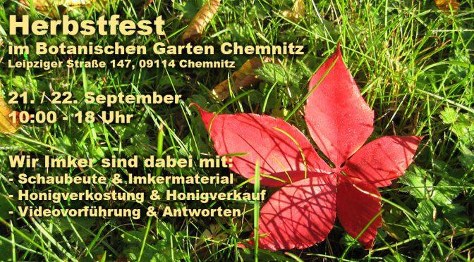 Herbstfest 2019 – Botanischer Garten Chemnitz